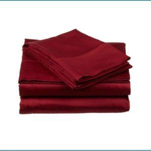 Solid Color Microfiber bed sheets