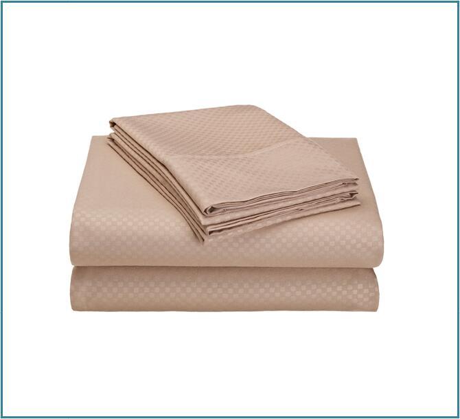 Embossed sheet taupe