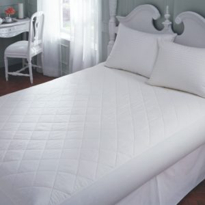Microfiber Mattress Pad with fitted